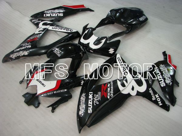 Suzuki GSXR600 GSXR750 2008-2010 Injection ABS Fairing - Beacon - Black - MFS2447
