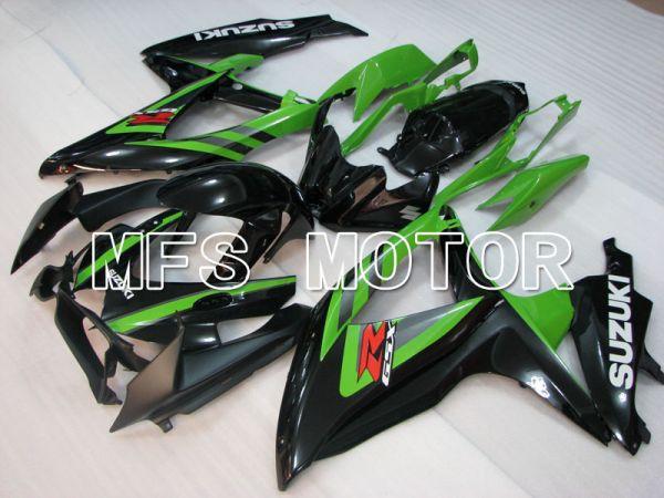 Suzuki GSXR600 GSXR750 2008-2010 Injection ABS Fairing - Factory Style - Black Green - MFS2474