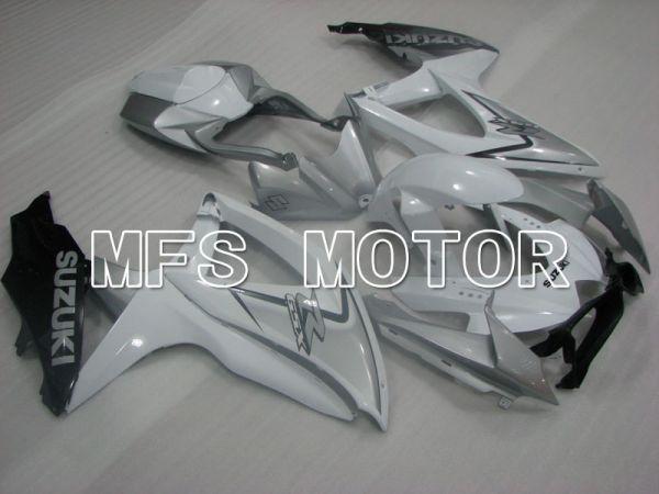 Suzuki GSXR600 GSXR750 2008-2010 Injection ABS Fairing - Factory Style - White - MFS2478