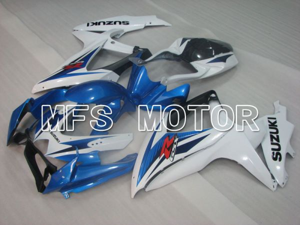 Suzuki GSXR600 GSXR750 2008-2010 Injection ABS Fairing - Factory Style - Blue White - MFS2481