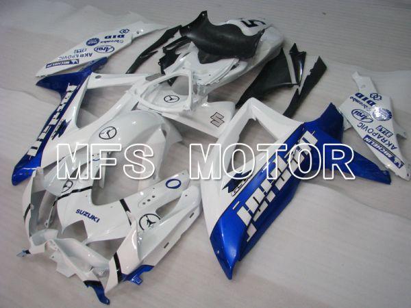 Suzuki GSXR600 GSXR750 2008-2010 Injection ABS Fairing - Jordan - Blue White - MFS2488