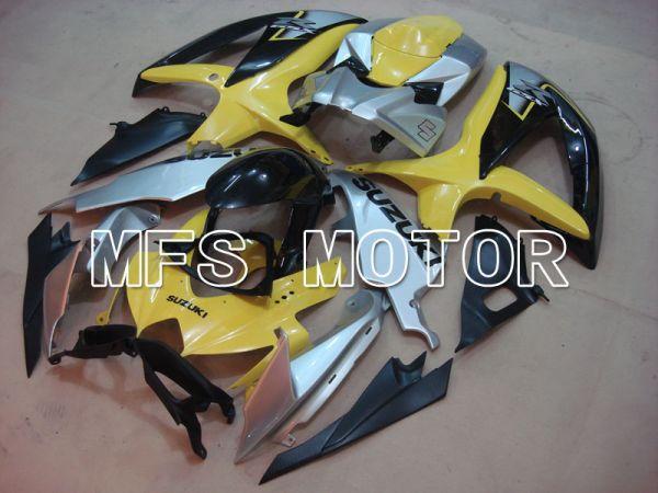 Suzuki GSXR600 GSXR750 2008-2010 Injection ABS Fairing - Factory Style - Yellow Silver - MFS2490
