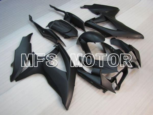 Suzuki GSXR600 GSXR750 2008-2010 Injection ABS Fairing - Factory Style - Black Matte - MFS2492