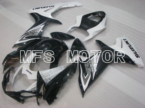 Suzuki GSXR600 GSXR750 2011-2016 Injection ABS Fairing - Factory Style - Black White - MFS2493