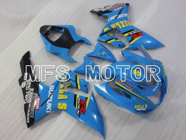 Suzuki GSXR600 GSXR750 2011-2016 Injection ABS Fairing - Rizla+ - Blue - MFS2498