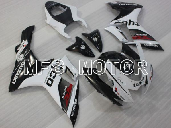 Suzuki GSXR600 GSXR750 2011-2016 Injection ABS Fairing - tyco - Black White - MFS2499