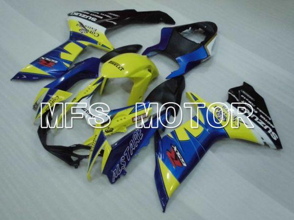 Suzuki GSXR600 GSXR750 2011-2016 Injection ABS Fairing - Corona - Blue Yellow - MFS2501