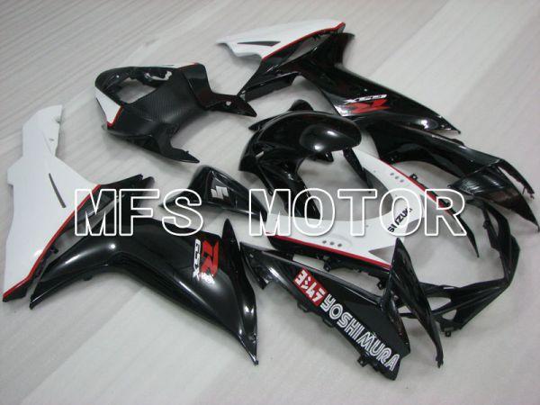 Suzuki GSXR600 GSXR750 2011-2016 Injection ABS Fairing - YOSHIMURA - Black White - MFS2503