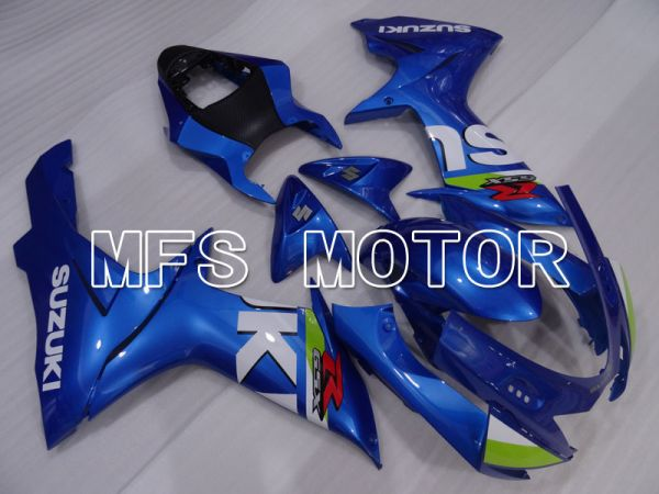 Suzuki GSXR600 GSXR750 2011-2016 Injection ABS Fairing - Factory Style - Blue - MFS2504