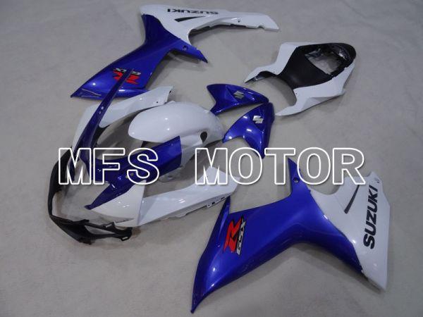 Suzuki GSXR600 GSXR750 2011-2016 Injection ABS Fairing - Factory Style - Blue White - MFS2509