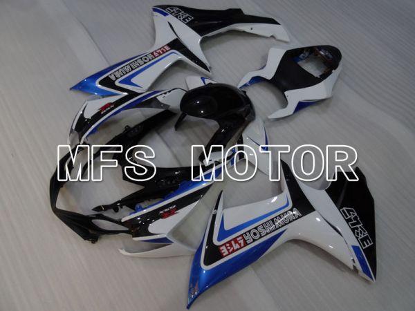 Suzuki GSXR600 GSXR750 2011-2016 Injection ABS Fairing - YOSHIMURA - Blue White - MFS2512