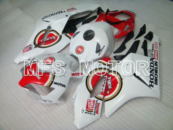 Honda CBR1000RR 2004-2005 Injection ABS Fairing - Lucky Strike - Red White - MFS2516