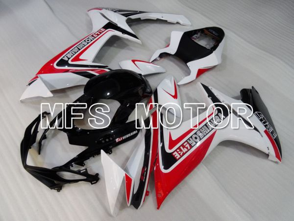 Suzuki GSXR600 GSXR750 2011-2016 Injection ABS Fairing - Factory Style - Red White - MFS2523
