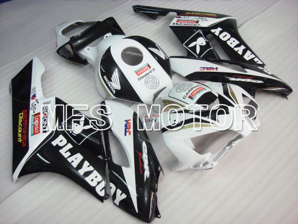 Honda CBR1000RR 2004-2005 Injection ABS Fairing - Playboy - White Black - MFS2526