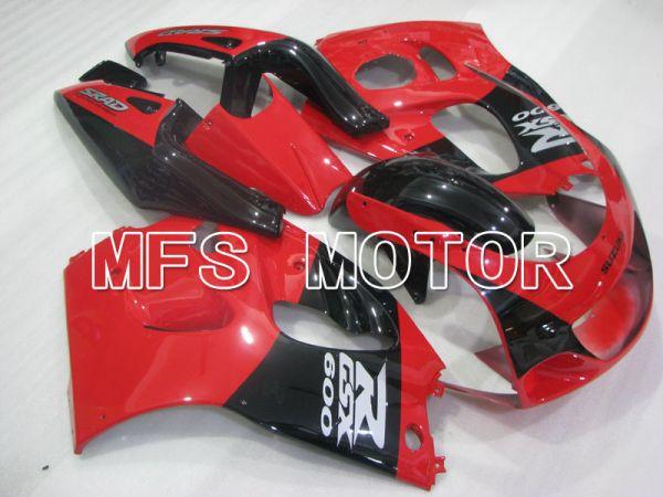 Suzuki GSXR750 1996-1999 ABS Fairing - Factory Style - Black Red - MFS6876