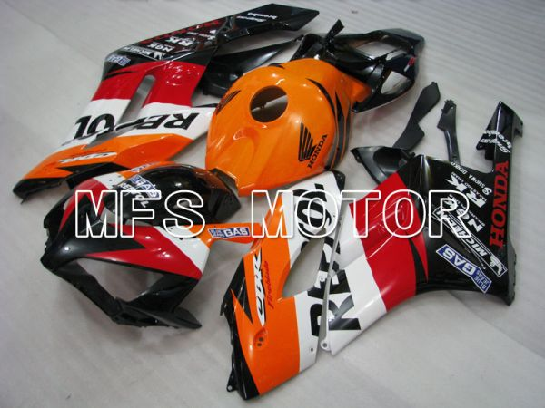 Honda CBR1000RR 2004-2005 Injection ABS Fairing - Repsol - Red Orange Black - MFS2542