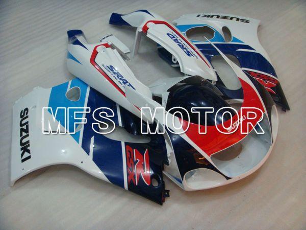 Suzuki GSXR750 1996-1999 ABS Fairing - Factory Style - Blue White - MFS6881