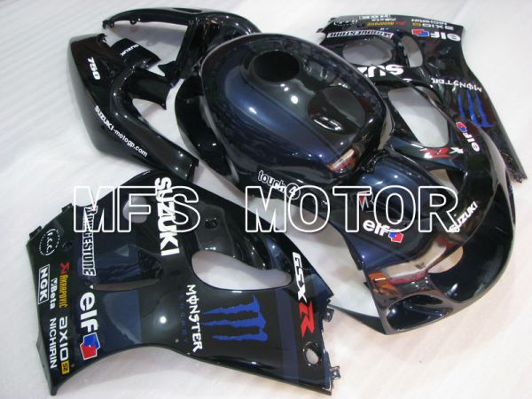 Suzuki GSXR600 1997-2000 ABS Fairing - Monster - Blue - MFS2568