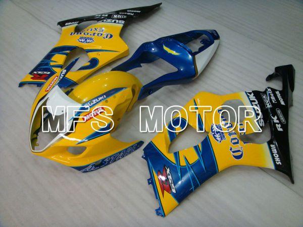 Suzuki GSXR1000 2003-2004 Injection ABS Fairing - Conora - Blue Yellow - MFS2573