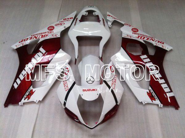 Suzuki GSXR1000 2003-2004 Injection ABS Fairing - Jordan - Red White - MFS2580