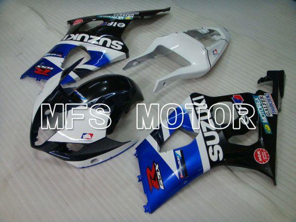 Suzuki GSXR1000 2003-2004 Injection ABS Fairing - Factory Style - Black Blue White - MFS2584