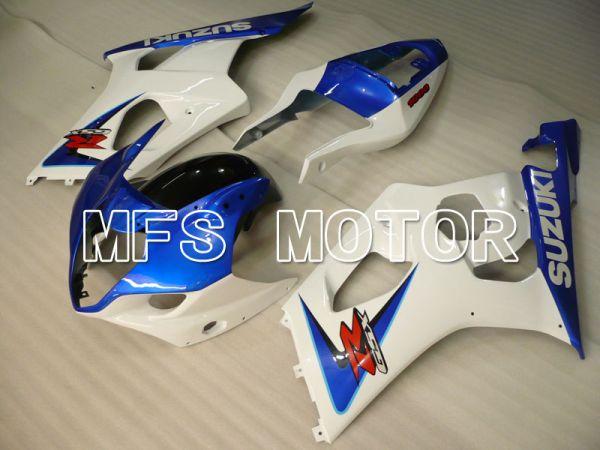 Suzuki GSXR1000 2003-2004 Injection ABS Fairing - Factory Style - Blue White - MFS2585