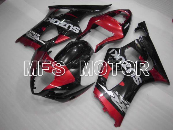 Suzuki GSXR1000 2003-2004 Injection ABS Fairing - Factory Style - Black Red - MFS2586