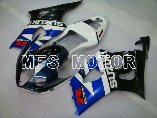 Suzuki GSXR1000 2003-2004 Injection ABS Fairing - Factory Style - Black Blue White - MFS2589