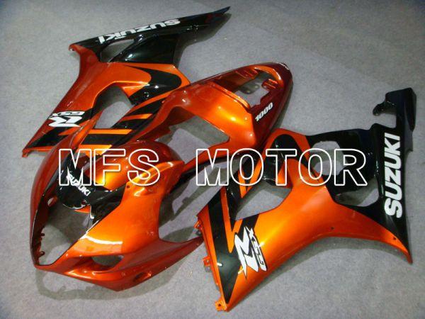 Suzuki GSXR1000 2003-2004 Injection ABS Fairing - Factory Style - Black Orange - MFS2592