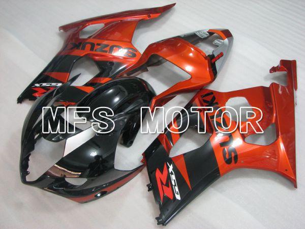 Suzuki GSXR1000 2003-2004 Injection ABS Fairing - Factory Style - Black Orange - MFS2593