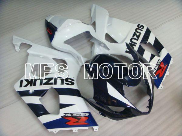 Suzuki GSXR1000 2003-2004 Injection ABS Fairing - Factory Style - Blue White - MFS2594