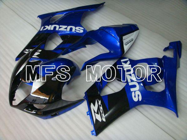Suzuki GSXR1000 2003-2004 Injection ABS Fairing - Factory Style - Black Blue - MFS2596