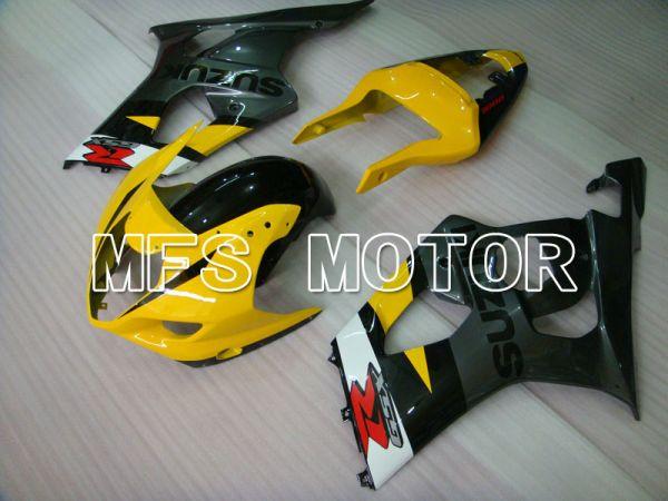 Suzuki GSXR1000 2003-2004 Injection ABS Fairing - Factory Style - Black Yellow - MFS2598