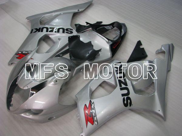 Suzuki GSXR1000 2003-2004 Injection ABS Fairing - Factory Style - Silver - MFS2599