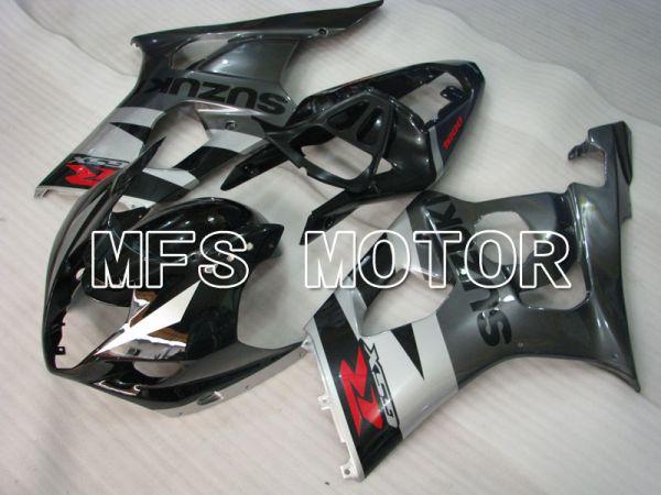 Suzuki GSXR1000 2003-2004 Injection ABS Fairing - Factory Style - Black Gray - MFS2601