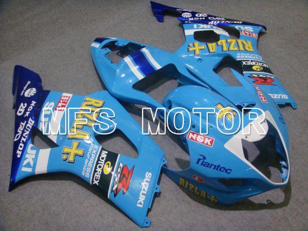 Suzuki GSXR1000 2003-2004 Injection ABS Fairing - Rizla+ - Blue - MFS2602