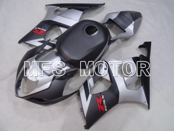 Suzuki GSXR1000 2003-2004 Injection ABS Fairing - Factory Style - Black Silver Matte - MFS2604