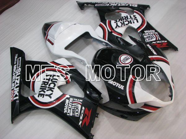 Suzuki GSXR1000 2003-2004 Injection ABS Fairing - Lucky Strike - Black White - MFS2609