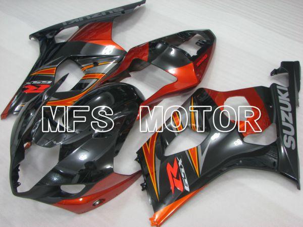 Suzuki GSXR1000 2003-2004 Injection ABS Fairing - Factory Style - Black Orange - MFS2611
