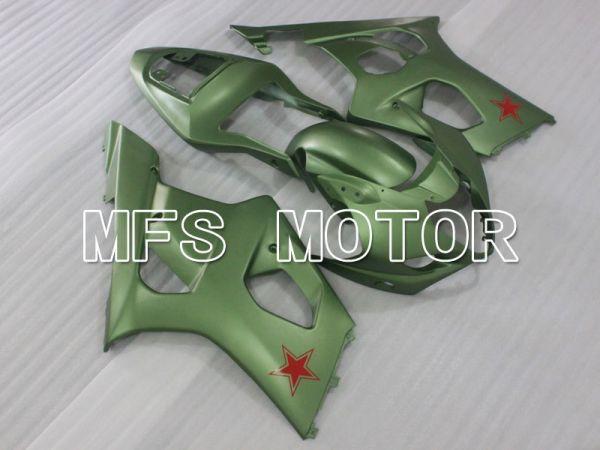 Suzuki GSXR1000 2003-2004 Injection ABS Fairing - Factory Style - ArmyGreen Matte - MFS2612