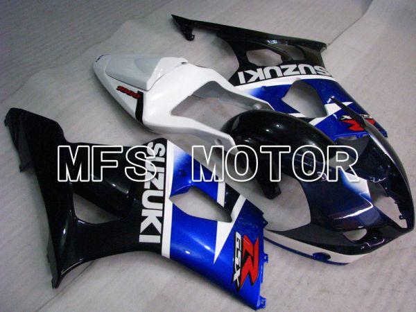 Suzuki GSXR1000 2003-2004 Injection ABS Fairing - Factory Style - Black Blue White - MFS2615