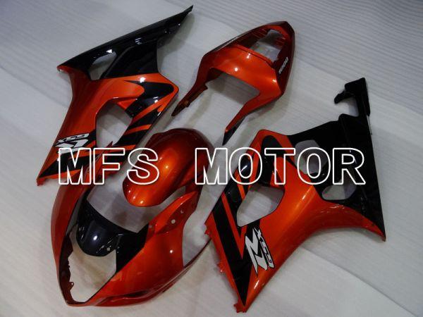 Suzuki GSXR1000 2003-2004 Injection ABS Fairing - Factory Style - Black Orange - MFS2616