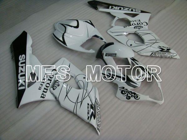 Suzuki GSXR1000 2005-2006 Injection ABS Fairing - Black White - Corona - MFS2618