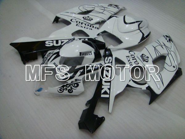 Suzuki GSXR1000 2005-2006 Injection ABS Fairing - Black White - Corona - MFS2620