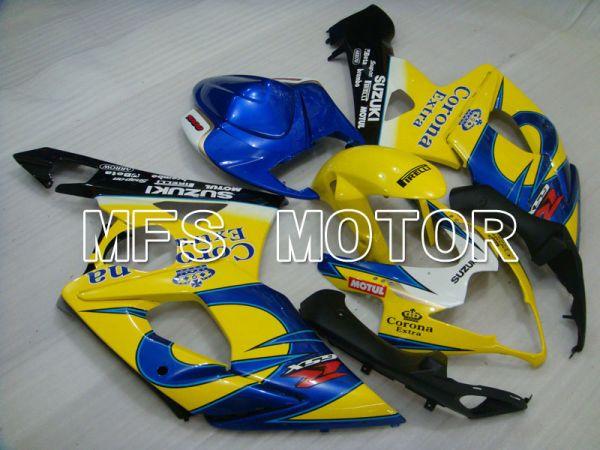Suzuki GSXR1000 2005-2006 Injection ABS Fairing - Blue Yellow - Corona - MFS2621