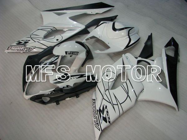 Suzuki GSXR1000 2005-2006 Injection ABS Fairing - Black White - PIRELLI - MFS2622