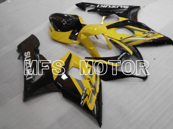 Suzuki GSXR1000 2005-2006 Injection ABS Fairing - Factory Style - Black Yellow - MFS2633
