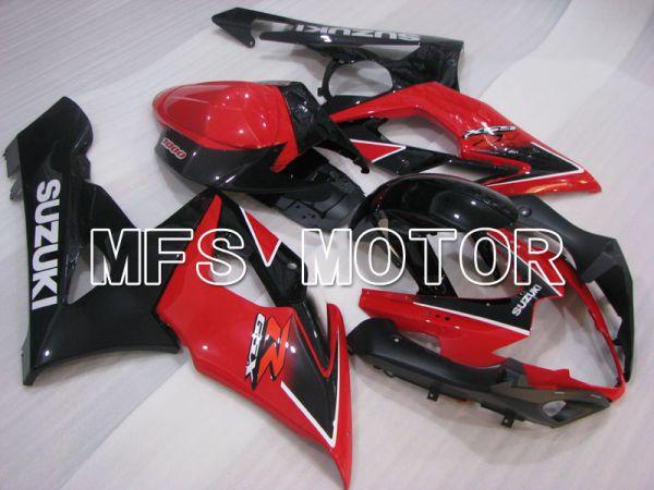 Suzuki GSXR1000 2005-2006 Injection ABS Fairing - Factory Style - Black Red - MFS2635