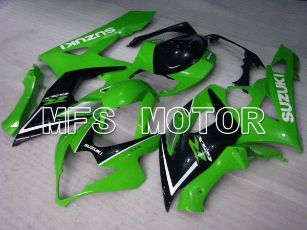 Suzuki GSXR1000 2005-2006 Injection ABS Fairing - Factory Style - Black Green - MFS2636