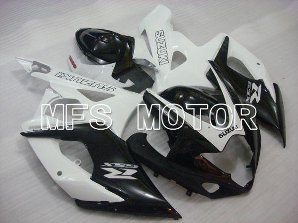 Suzuki GSXR1000 2005-2006 Injection ABS Fairing - Factory Style - Black White - MFS2637
